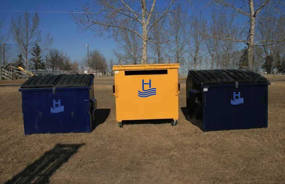 Portable Waste Bins